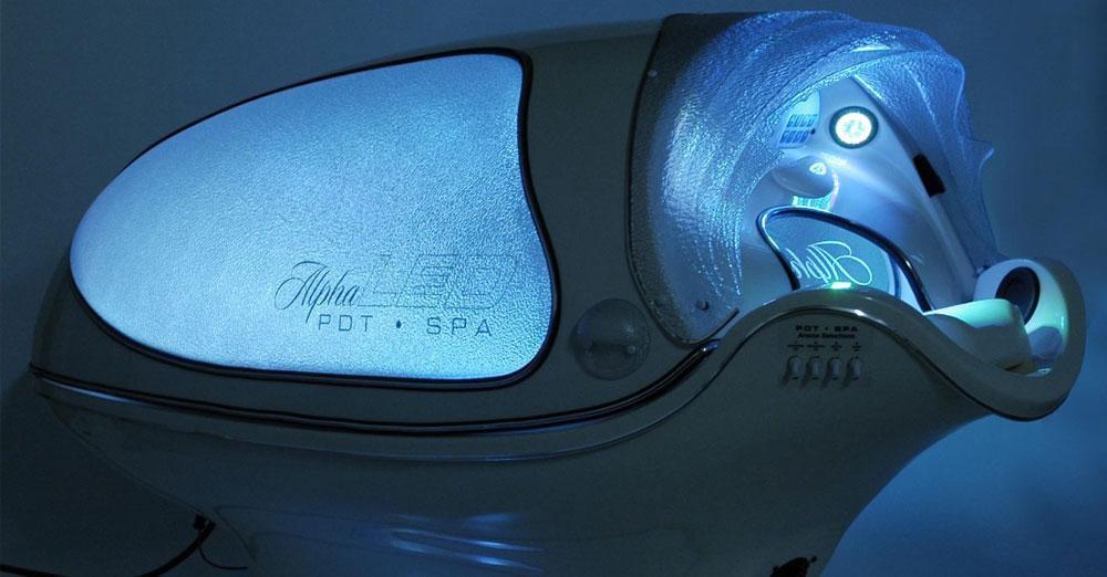 Sybaritic Alpha LED Oxy Light Spa 2